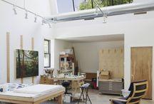 Artist's studio / by Penelope Casey