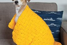 Crochet dog stuff / Crochet dog stuff. Clothes, blankets etc.
