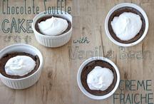 Desserts ~ Souffles - Lava Cakes