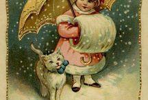 vintage pohľadnice/postcards