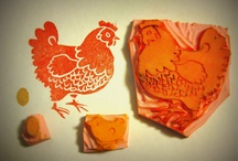 chickens &  Rooster