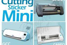 Jual Mesin Cutting Sticker Mini