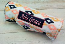 Napmat Name Plate Options / Name Plates are Embroidery used on fabric that is then sewn on the Napmat to personalize your child's very own mat!