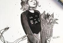 dibujos persona