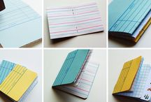 Library Card Ideas / by ThePlaidBarn