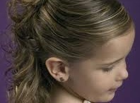Updo for young girls / by Danielle Walborn