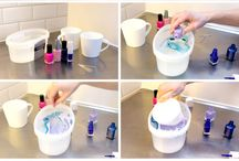 Nail Polish Swirl Glasses & Mugs