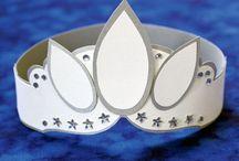 Coronas de reyes y reinas