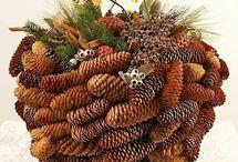 Karácsony-christmas / Karácsonyi dekoráció  Vendula Műhelyből