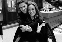SnowBarry / Barry Allen and Caitlin Sown