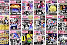 Newspaper Front Pages / A record of events captured via the front pages of the world's newspaper front pages.