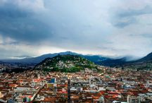 Quito, Ecuador / MTS Tour, Day 1: If time allows after settling into the hotel I can visit colonial Quito, a short cab ride away. Day 5: We'll return from the islands by 3:30pm and can explore Quito the rest of the day if you wish. Suggestions: http://simplicityrelished.com/10-places-to-visit-in-historical-quito-ecuador/ and Mercado Artesenal La Mariscal the indoor city market a 20-min cab ride away.