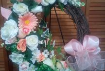 Southern and Crafty / We are a couple of southern ladies bringing that southern charm straight into your home!Here's some of our projects! For orders and more info, visit our Facebook page at www.facebook.com/southernandcrafty or send us a message! Happy Crafting! #wreaths #crafting