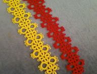 Handmade things / Tatting (frivolité), crochet, embroidery, and so forth. Go analog!