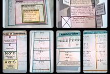 Secondary Math Interactive Notebooks / Interactive Notebook Ideas and Resources for Secondary Math