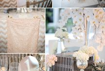 Weddings - Shades of Cream / Cream and Neutral Colors
