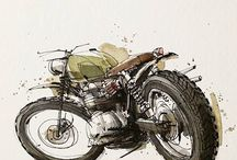 Drawing Motorcycles