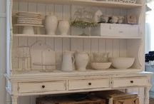 Hutch dresser / How to dress French country
