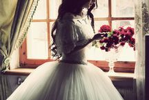 The oh so chic Bride / Hair styles/dresses/accessories / by Valerie Gartner -Stylist/Owner 2 Girls Vintage