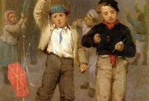 John George Brown Pintor inglês (1831-1913)