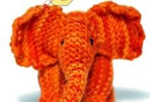 Knitted toys / Knitting patterns