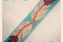 Indian beadwork