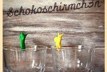 Schokoschirmch3n / Aus einer kleinen fixen Idee wird ein großes buntes Wunder