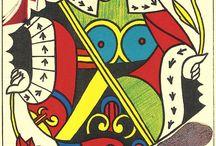 Dalí, cartes Tarot, Signes Zodiac