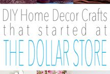 Dollar Store projects