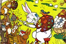 Easter -- Comics / by GCD Grand Comics Database