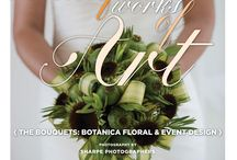 """Beautiful Works of Art: The Bouquets {Botanica Floral & Event Design} / From the """"Beautiful Works of Art"""" Cover Model Contest feature in the Winter/Spring 2014 issue of Real Weddings Magazine, Photography by www.SharpePhotographers.com © Real Weddings Magazine, www.realweddingsmag.com. Bouquets by www.botanicaevents.com. To see more, including a full list of all of the professionals on this shoot, visit: www.realweddingsmag.com/beautiful-works-of-art-the-bouquets-botanica-floral-event-design"""