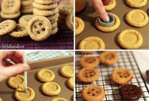 Печенье пуговки