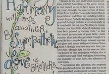 Bible Journaling - 1 Peter