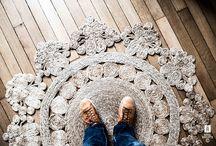 Carpets, rugs, textiles