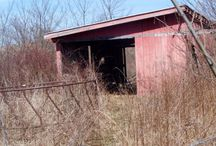 Barn Remodel / I will be literally remodelling my little red barn across the road into my Kim Kave.