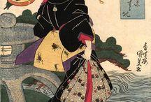 Grabado y pintura japonesa