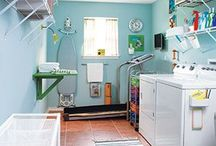 Laundry Room Inspiration / by Helena Hill