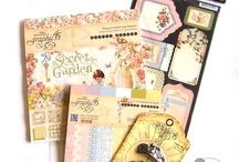Beautiful scrapbook paper