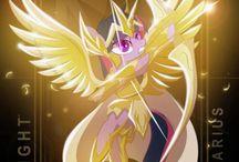 Saint Seiya version pony