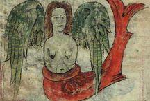 """Femineidad 3.0 / Día de la Mujer en el Museo Sefardí: """"la sirena en los bestiarios medievales"""" http://www.laboratoriomulticultural.org/bestiario/sirena-y-centauro/#"""