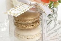 gold wedding favors
