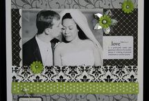 With All My Love, Wedding Scrapbooking Layouts