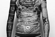 tattoo and body