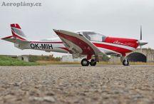 Letadla / Fotografie letadel převážně z mého domovského letiště...