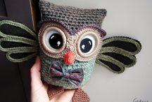 Crochet - Owl / by Nivethetha Sudhakar