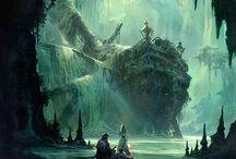 RPG Fantasy - Cenários