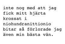 Citat svenska vänskap