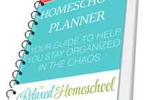 Homeschool Organization / It's so much fun to organize our homeschool rooms. There are many different ideas we can use from these pins and many of them are great for those who need to organize their homeschool on a budget!