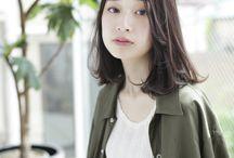 【オトナ可愛いヘアスタイル】ミディアム