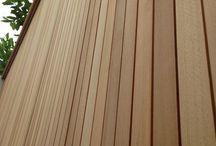Cedar panels